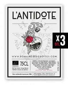 Antidote 3 bottles (Postal...